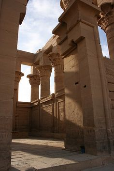 This is the #1 temple I want to visit in Egypt. It was dedicated to Isis, my favorite Egyptian God. Philae Temple, Aswan, Egypt