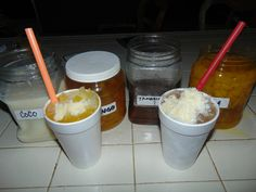 Snow Cone Syrup, Snow Cones, Tamarindo, Snow Cone Stand, Summertime, Ice Cream, Make It Yourself, Syrup Recipes, Slushies