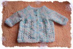 marianna's lazy daisy days: Bella Baby Jacket - free pattern