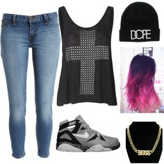 """Dope Sh*t"" by larry-stereck on Polyvore"
