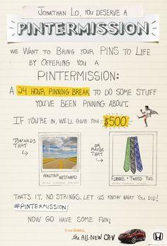 How Honda Reverses Brand Communication on Pinterest | Mindjumpers