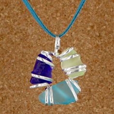 Sadie Green's Sea Glass Pendant