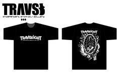 TRAVS 8 T-shirt No,01 by SVART  60$
