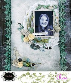 Scrapping Fancy: Sketch Layout for Tres Jolie Kit Club