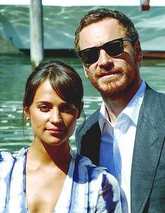 Michael Fassbender & Alicia Vikander Venice 2016