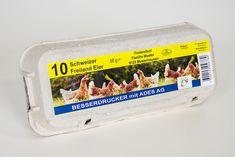 BESSERDRUCKEN: Etikettenfür Eier-Kartons selber drucken Bekanntli...