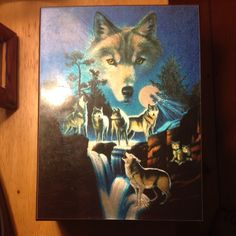 For Sale: Wolves Jewelry Box for $5