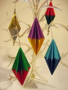Origami Maniacs: Origami Ornament for Christmas
