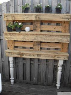 Wooden Pallet Furniture   Interesting Home & Garden Pictures