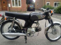 Honda SS50 Classic Moped 1969 97cc | eBay