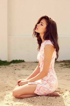 Summer Pink Style Sleeveless Dress