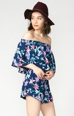 434721bef5de Rosarita Romper ~ Lilies Of Love. How To Show LoveShow Me YourLove At First  SightLiliesLove HerFashion IdeasSpring FashionRompersJumpsuits