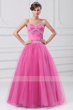 Princess Floor-length Natural Sweetheart Organza Quinceanera Dresses
