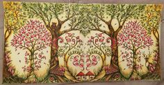 My Summer Forest from the Enchanted Forest / Johanna Basford/ I used my Polychromos Faber Castell pencils