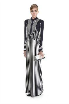 marc jacobs Silk Jersey Trompe l'Oeil Dress