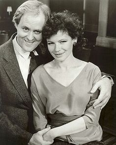 Broadway Bruce (John Lithgow) and Prudence (Diane Wiest)