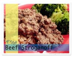 My Beef Stroganoff Recipe gets an E style makeover this week on Trim Healthy Tuesday!   Hope you enjoyed last weeks awesome collection of Trim Healthy Mama inspired posts...let's start with my recipe for this week, and then we'll look at the top favorites from last week and do the link up fun again!