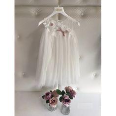 033200959fb Βαπτιστικά Κουστουμάκια Χειμερινά · Dolce Bambini βαπτιστικό φόρεμα  βαμβακερό με δαντέλα οικονομικό, Βαπτιστικά ρούχα κορίτσι μοντέρνα-τιμές-