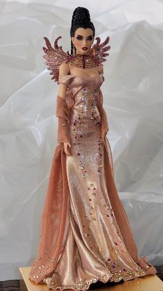 """Sherry Wedding dress Outfit for Fashion Royalty 11.5-12/"""" doll STO-bride-2"""