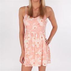 Soprano Juniors Floral Printed Lace Dress #VonMaur #Soprano #FloralPrint #Pink #SpaghettiStraps