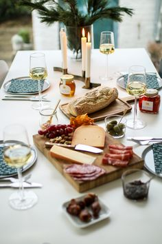 Dining in Wine Country - Entertaining Essentials with Napa Flair Churros, Italian Catering, Styling A Buffet, Cold Meals, Thanksgiving Table, Decoration Table, Along The Way, Restaurant, Food Photography