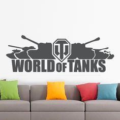 A játék kedvelőnek készült a minta. #faltetoválás#falmatrica#lakásdekoráció#lakásfelújítás#tinédzserszoba#kamaszszoba#tiniszobadíszítése#wotsziluett#wotmatrica#wotfaltetoválás#wotfalmatrica World Of Tanks, Home Decor, Decoration Home, Room Decor, Wold Of Tanks, Home Interior Design, Home Decoration, Interior Design