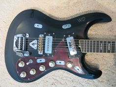 Rare Vintage 1967 Vox V262 Invader Guitar Good Shape Repainted Black | Reverb - Could not want this more!