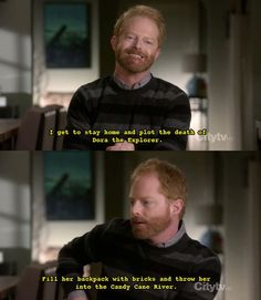 Modern family!  Maybe I should watch this show.  That's funny as hell.  :)