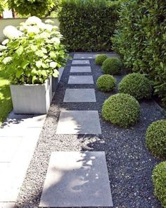 Top 70 Best Stepping Stone Ideas - Hardscape Pathway Designs From modern to rustic, discover outdoor inspiration with the top 70 best stepping stone ideas. Explore unique hardscape pathway designs for your yard. Modern Garden Design, Contemporary Garden, Landscape Design, Formal Gardens, Outdoor Gardens, Cerca Natural, Side Yard Landscaping, Landscaping Ideas, Landscaping Software