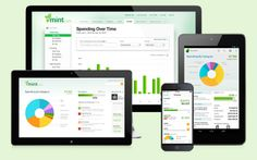 Mint.com online and mobile apps for managing personal finances. - Mint.com / Intuit, Inc.