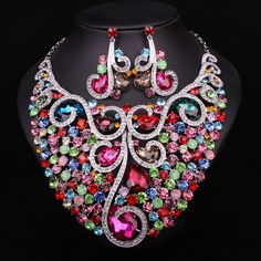 bridal jewelry sets //Price: $63.37 & FREE Shipping // Get it here ---> https://bestofnecklace.com/bridal-jewelry-sets/    #jewellery