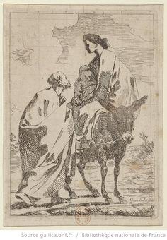 [La huida a Egipto] : [estampe] ([Épr. d'état]) / Goya inv.t et fecit - 1