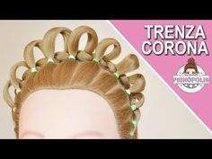 TRENZA CORONA : PEINADOS FACILES y RAPIDOS con Trenzas para Niñas de Fiestas - YouTube Girl Hair Dos, Little Girl Hairstyles, Hair And Nails, Little Girls, Hair Styles, Beauty, Jewelry, Youtube, Rapunzel