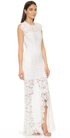 b6b0ab2f108 Rachel Zoe Estelle Cutout Maxi Dress