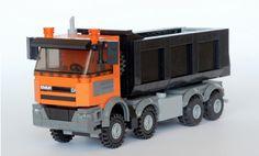 Lego Tractor, Lego Truck, Lego Unimog, Lego Crane, Lego Fire, Lego Construction, Lego Worlds, Cool Lego Creations, Lego Projects