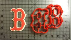 Boston Red Sox Cookie Cutter Set-  I NEED THIS!!