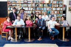 A gathering of Stroud book festival authors