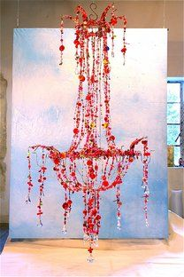 South African Recycled Plastic Bottles Chandelier $4800