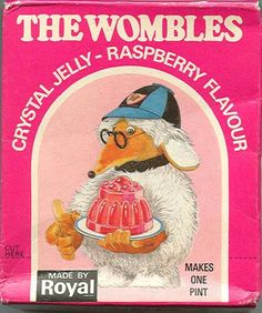 Raspberry flavour Wombles jelly by Royal - I think I I vaguely remember this…