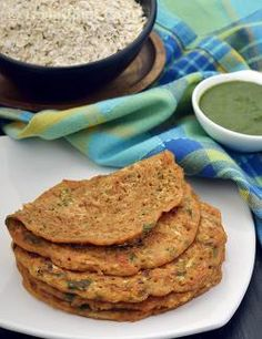 the Oats and Vegetable Pancakes are made with a combination of oats and healthy flours, reinforced with an assortment of juicy and crunchy veggies like carrots and cabbage.