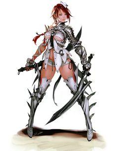 Vella - Characters  Art - Vindictus