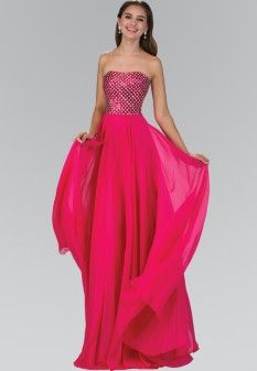 Dresses - Pageant Planet Prom Long, Formal Gowns, Formal Prom, Pageant Dresses, Chiffon Fabric, Special Occasion Dresses, Dress Collection, New Dress, Strapless Dress Formal