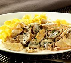 Recipe: Chicken Tenders Stroganoff (using baby bells mushrooms) - Recipelink.com