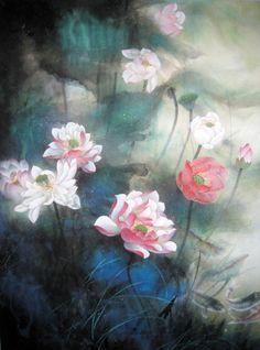 Lotus,50cm x 65cm(19〃 x 26〃),2329003-z