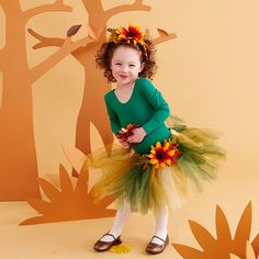 Turn your little one into an adorable forest fairy this Halloween! More easy Halloween costumes: http://www.bhg.com/halloween/kids-costumes/easy-to-make-kids-costumes/?socsrc=bhgpin092313fairy&page=1