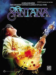 Alfred - Santana - Guitar Heaven Guitar TAB Book