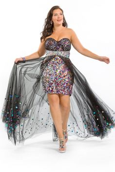 bbe03b0354b Color Wonder Party Dress by Alight on CurvyMarket.com Plus Size Plus Size  Prom Dresses