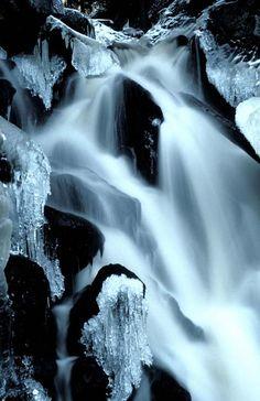 Waterfall in Korkeakoski, Finland. Blue Bus, Snow Photography, Birches, Travel Log, White Lilies, Amazing Adventures, Helsinki, Natural Wonders, Origins