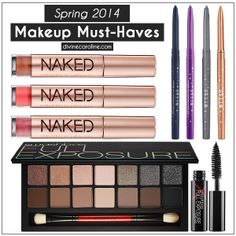Here are 3 products from 2014 spring lines that offer shimmer, shine, natural matte looks, textures to blend, and more.