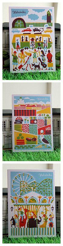 Kehvola Design Postacards available @ Siena, Aleksanterinkatu 26, 00170 Helsinki (Rautatietori, Kauppatori, Linnanmäki)